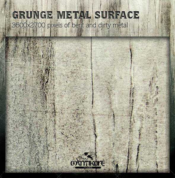 GraphicRiver Grunge Metal Surface 4644597