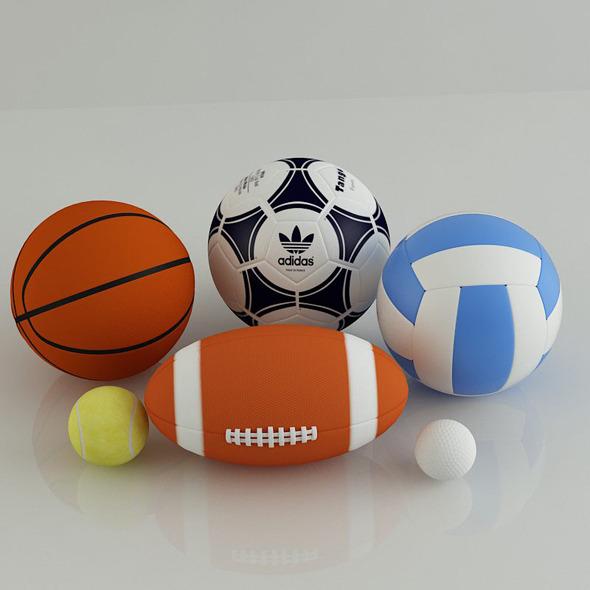 3DOcean Balls 4644731