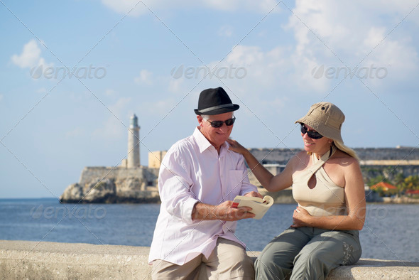 Tourism and old people traveling, seniors having fun on vacation - Stock Photo - Images