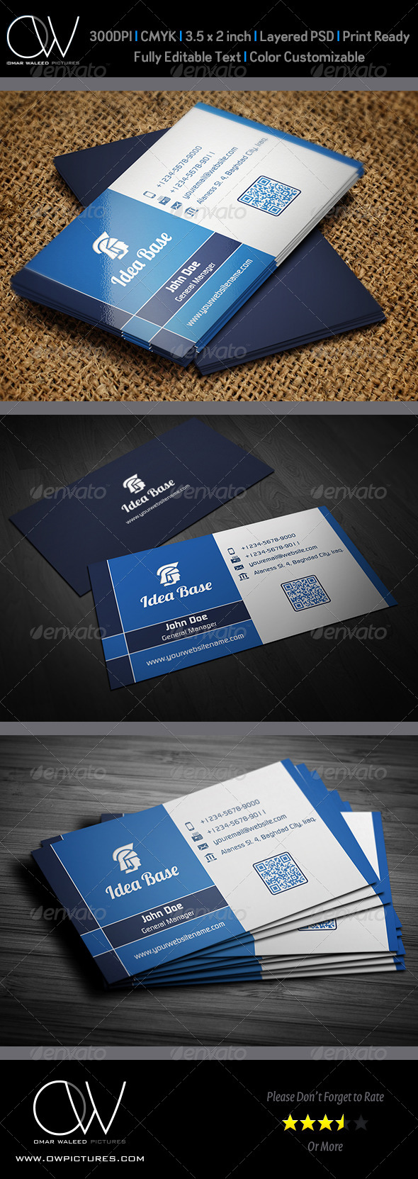 GraphicRiver Corporate Business Card Vol.24 4645381