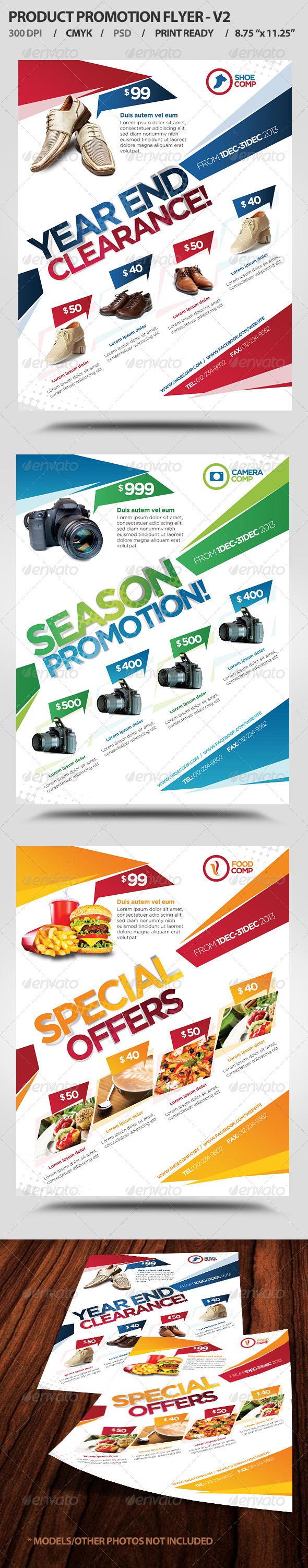Product Promotion Flyer V2  - Corporate Flyers