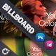 Beauty Saloon Billboard Template