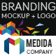 Medida Branding Mockup + Logo - GraphicRiver Item for Sale
