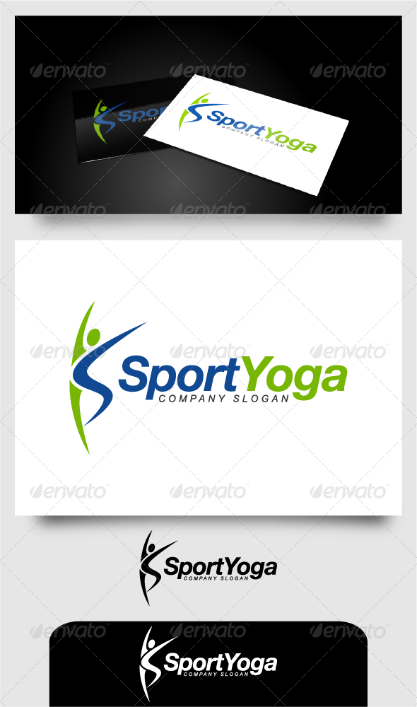 GraphicRiver Sport Yoga 4646022
