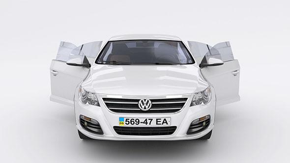 3DOcean Volkswagen Passat CC 4646112