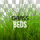 6 Isolated Grass Beds - GraphicRiver Item for Sale