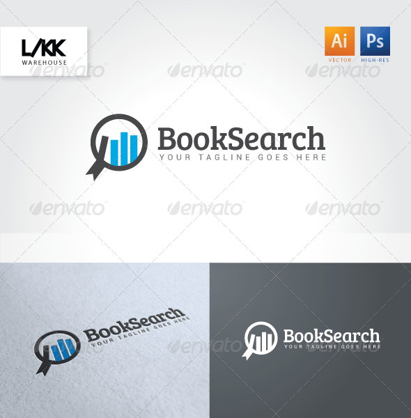 GraphicRiver BookSearch logo 4647766