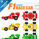 F1 Race Car - GraphicRiver Item for Sale