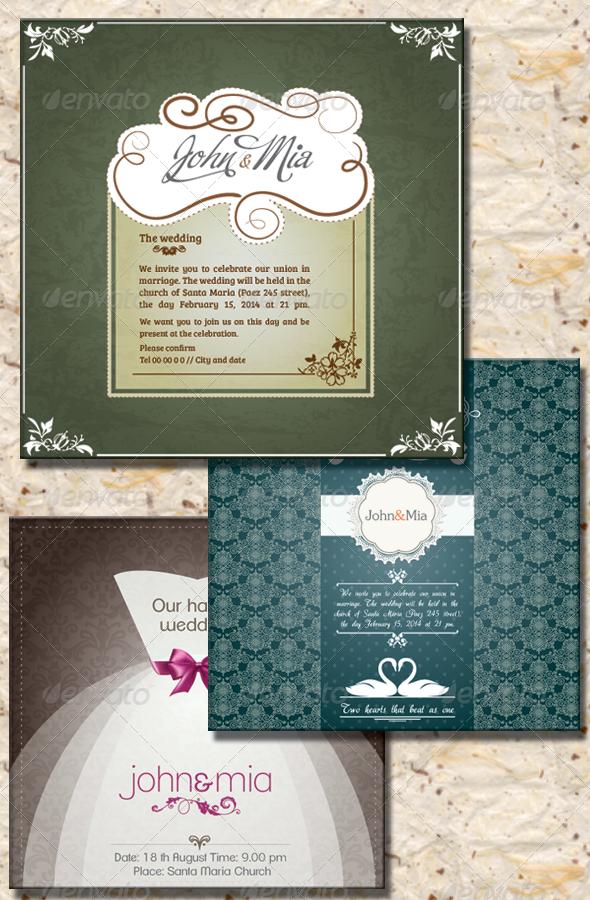 GraphicRiver Invitation to Wedding II 4649490