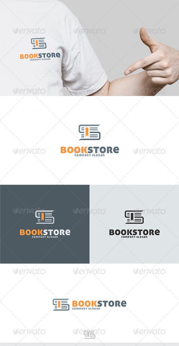 Book Store Logo - Symbols Logo Templates