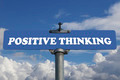 Positive thinking road sign  - PhotoDune Item for Sale