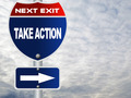 Take action road sign  - PhotoDune Item for Sale