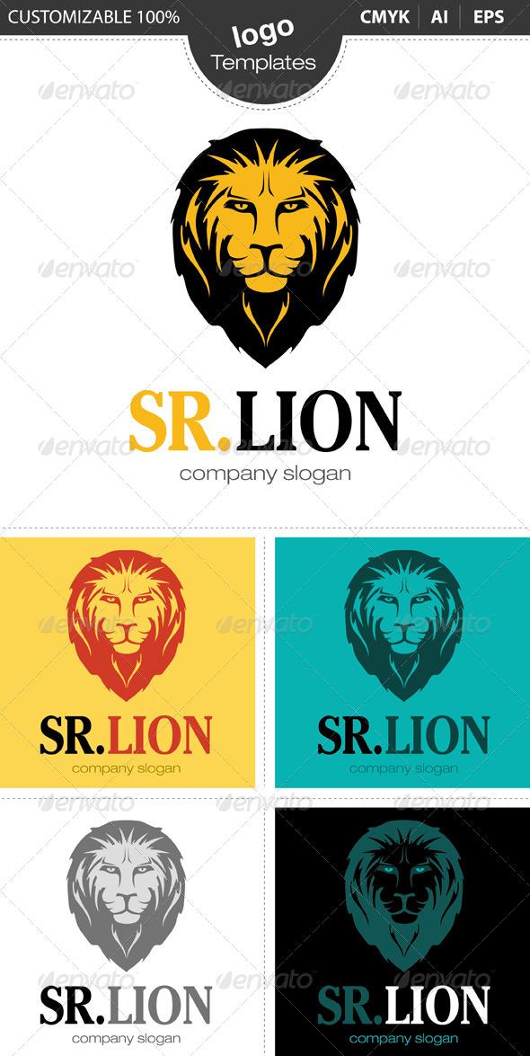 GraphicRiver Sr.Lion Logo 4649730