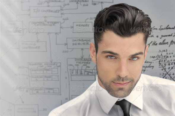 Successful young man - Stock Photo - Images