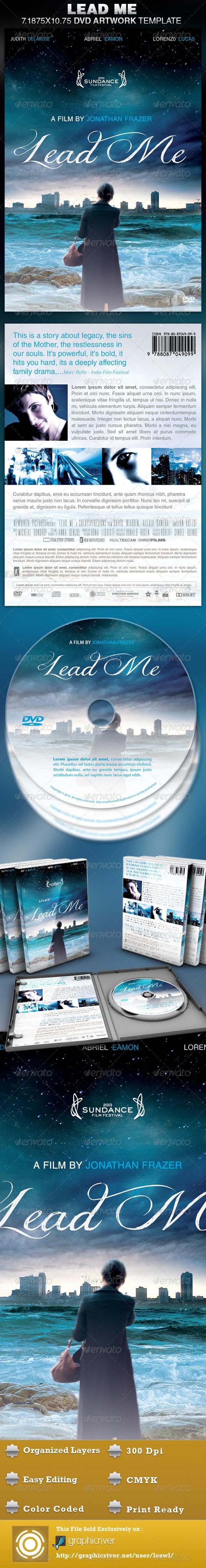GraphicRiver Lead Me DVD Artwork Template 4650001