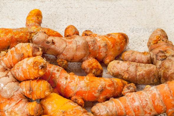 turmeric root - Stock Photo - Images
