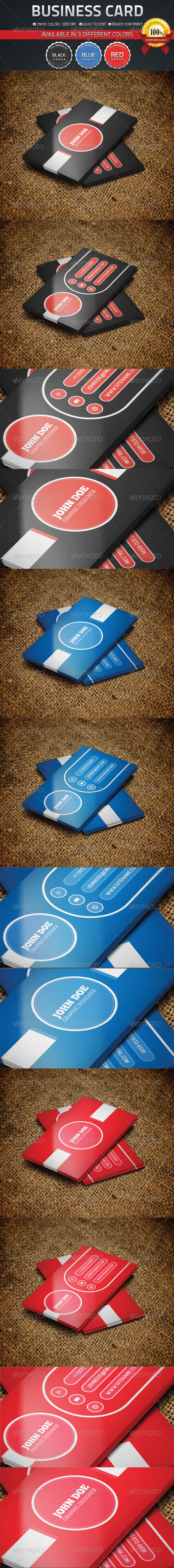 GraphicRiver Clean Business Card 4555346