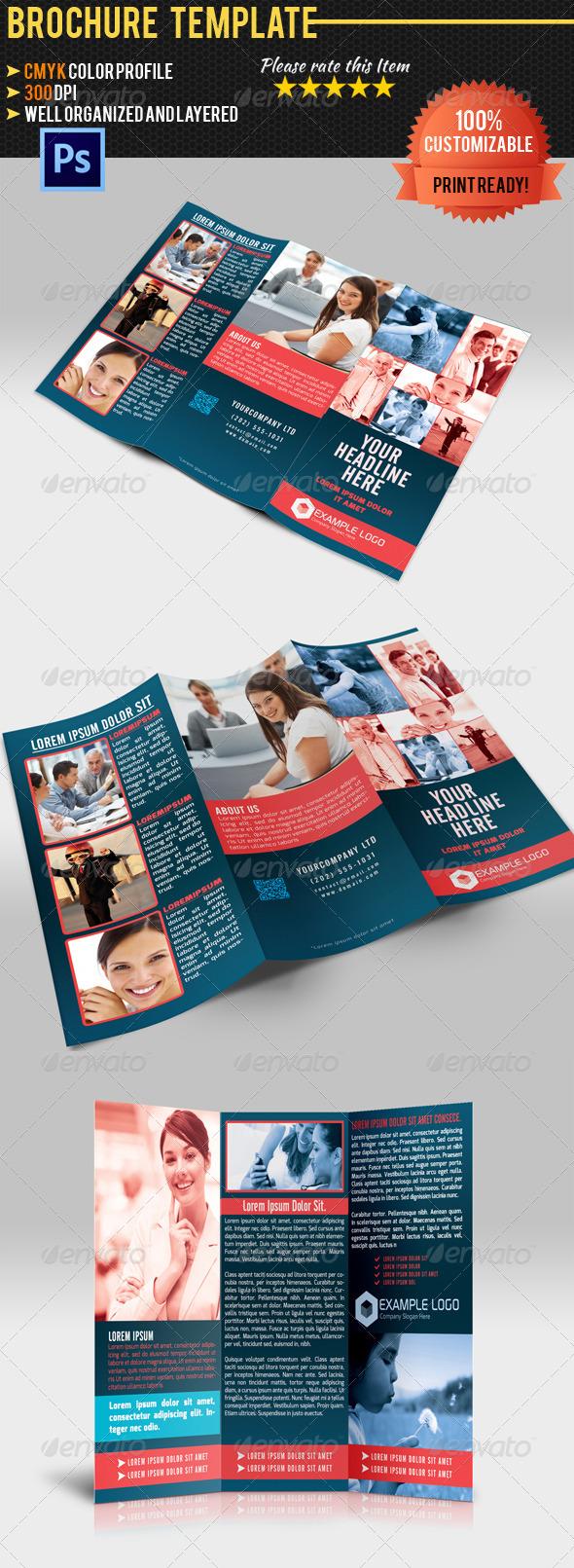 GraphicRiver Tri-Fold Corporate Business Brochure 03 4586571