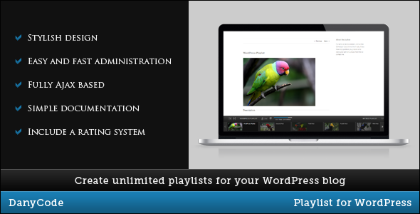 CodeCanyon Playlist for WordPress 3528330