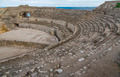 Ruins of the ancient amphitheater in Tarragona Spain - PhotoDune Item for Sale