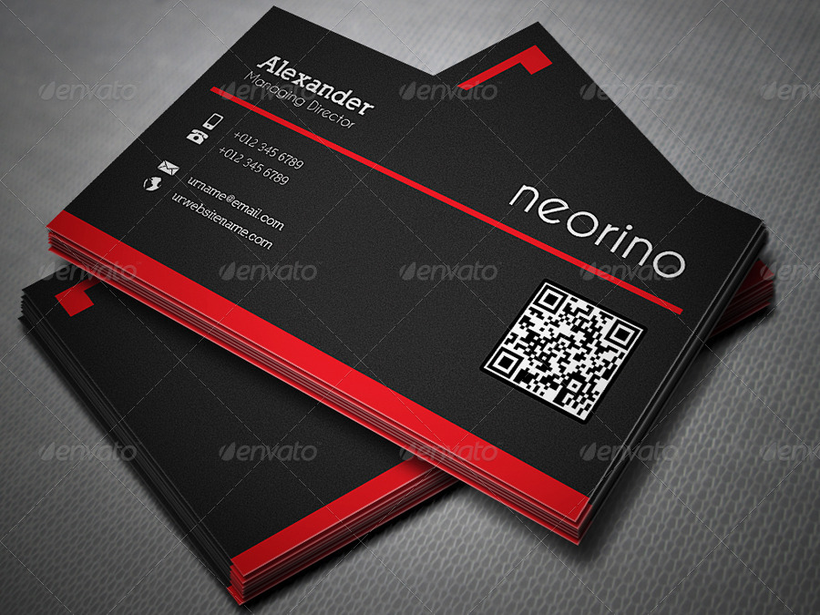 line Business Card by axnorpix