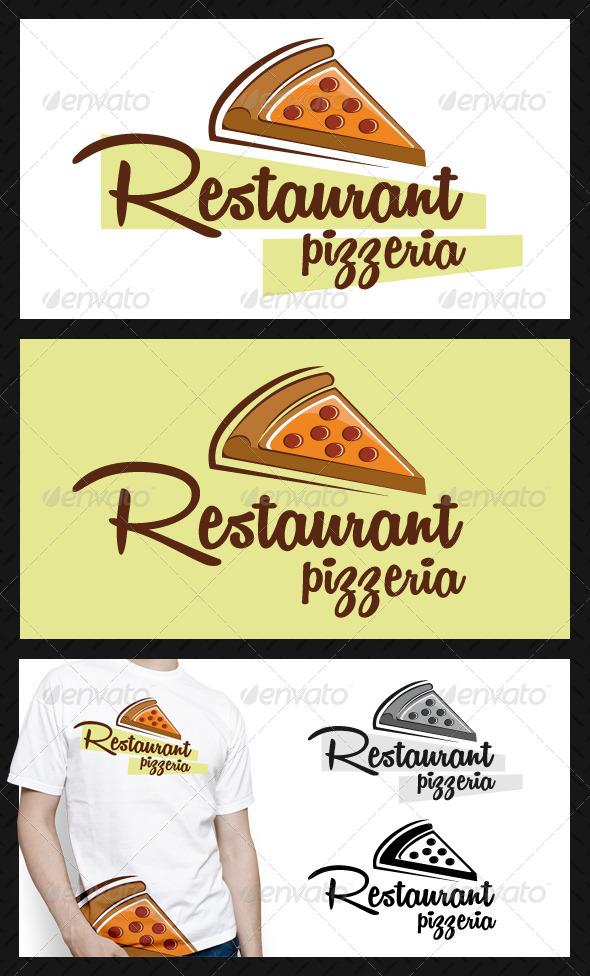 GraphicRiver Pizzeria Restaurant Logo Template 4651578