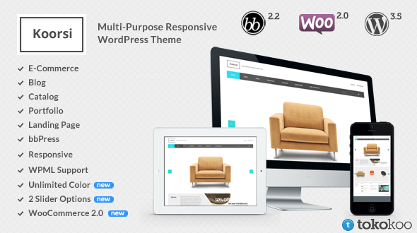 Koorsi Multi purpose WordPress theme