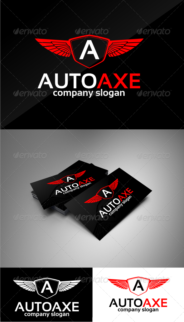 GraphicRiver autoaxe logo templates 4652507