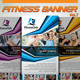 Fitness Banner Vol.7 - GraphicRiver Item for Sale