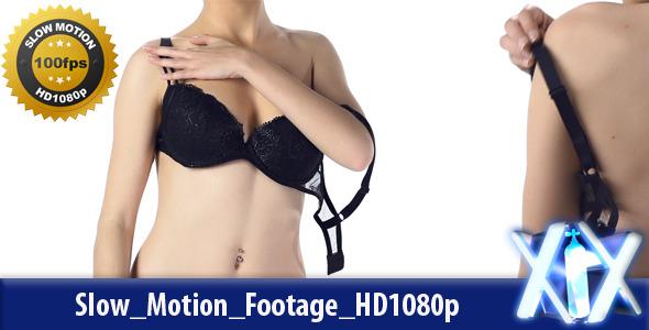 Woman Taking Off Bra By Xnitrox  Videohive-4787