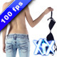 Slim Woman Taking Off Bra - VideoHive Item for Sale
