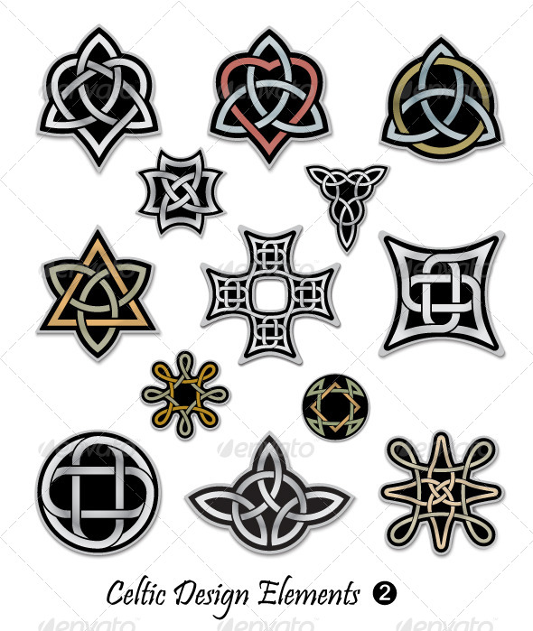 GraphicRiver Celtic Design Elements 4653483