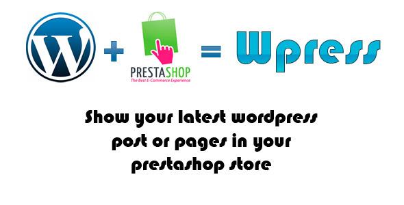 CodeCanyon Wpress Show Wordpress Post on Prestashop 4653496
