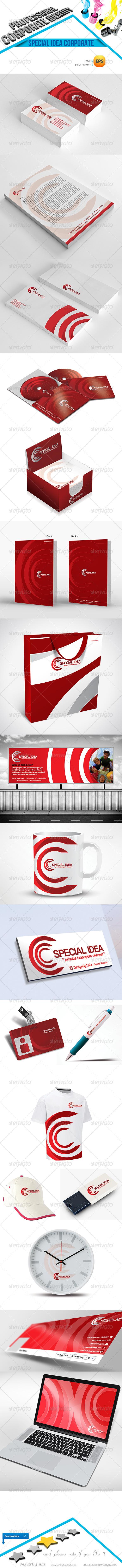 GraphicRiver Special Idea Corporate Identity 4653525