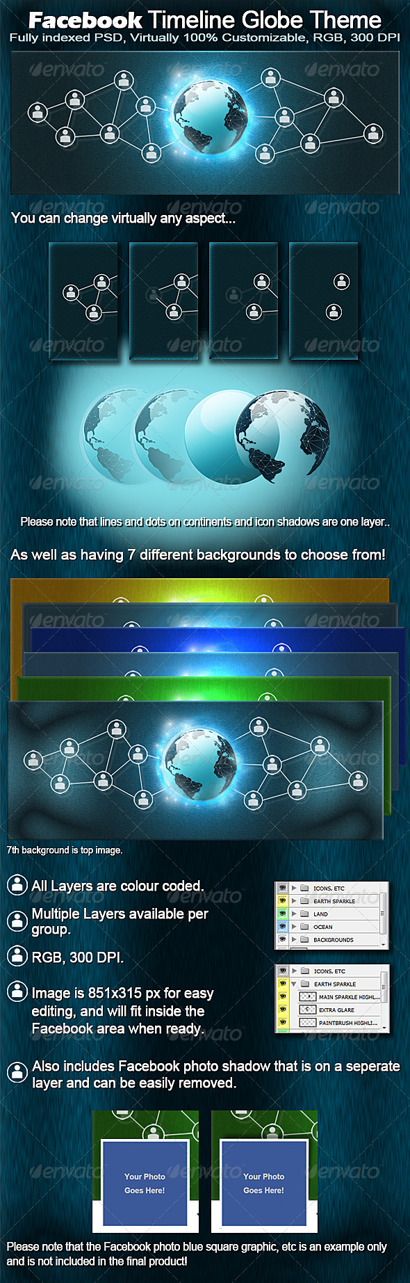 GraphicRiver Fb Timeline Globe Theme 4514598