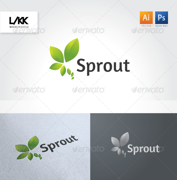 GraphicRiver Sprout logo 4653709