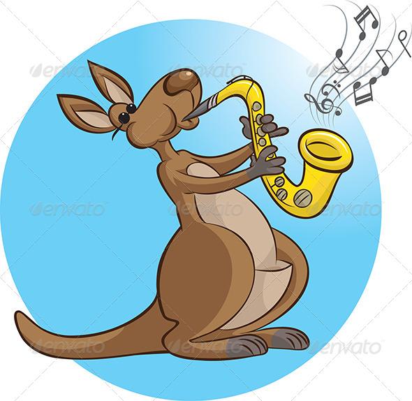 GraphicRiver Saxophonist 4630215