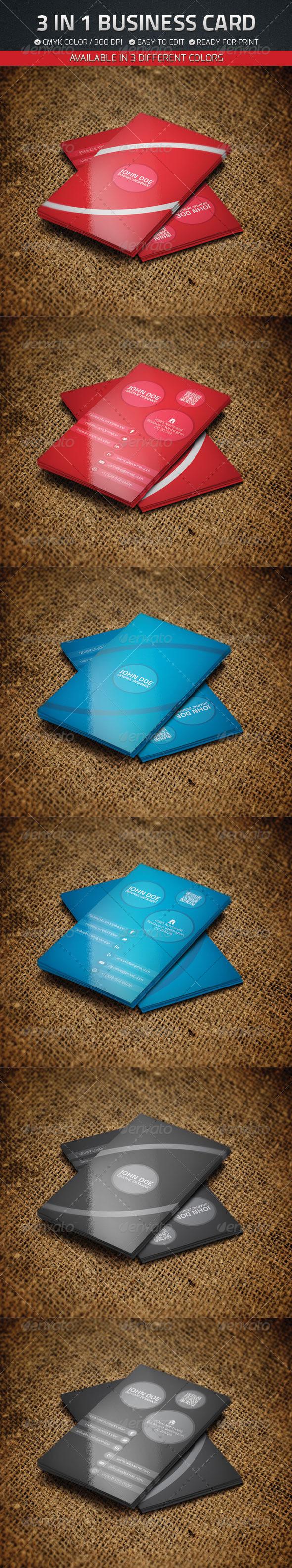 GraphicRiver Business Card Set 4654463