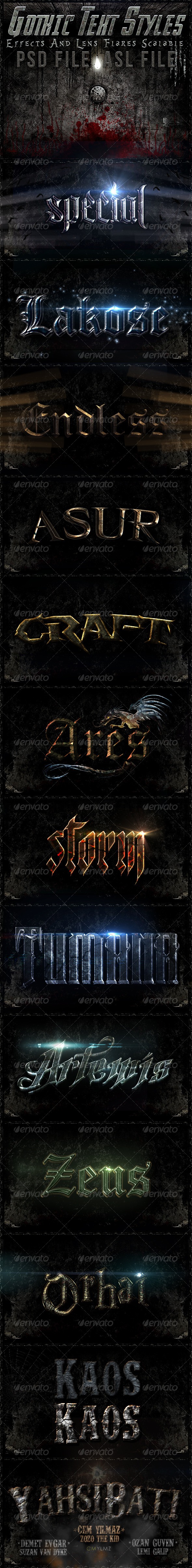 GraphicRiver Gothic Text Styles v1 4654769