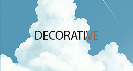 Decoratove vectors