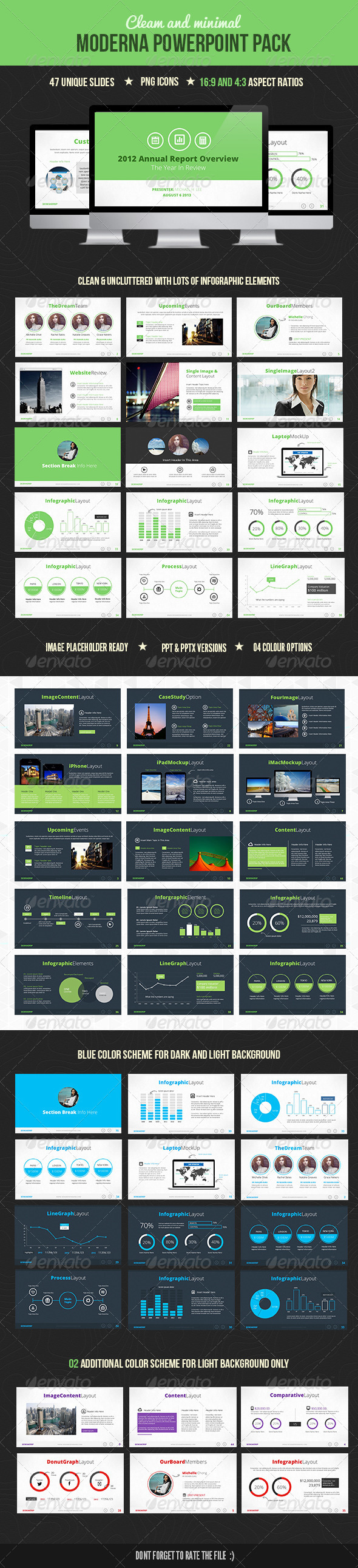 GraphicRiver Moderna Powerpoint 4596595
