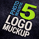 5 Logo Mock Ups - GraphicRiver Item for Sale
