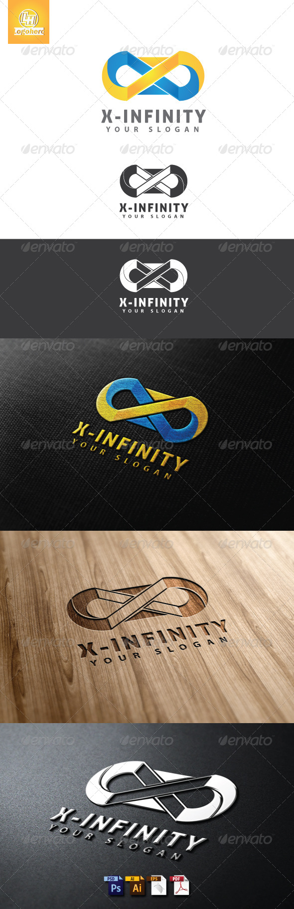 GraphicRiver X-Infintiy Logo Template 4655586
