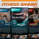 Fitness Banner Vol.9 - GraphicRiver Item for Sale