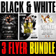 Black and White Party Flyer Bundle - GraphicRiver Item for Sale