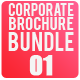 Tri-Fold Corporate Business Brochure Bundle 01 - GraphicRiver Item for Sale