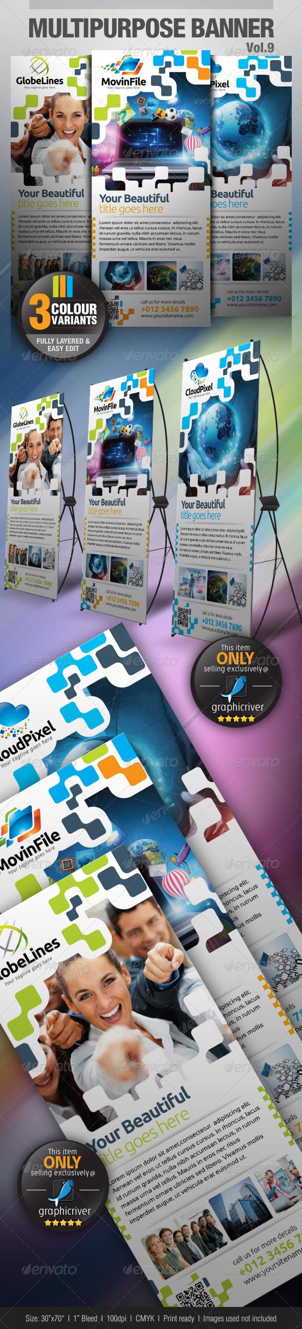 GraphicRiver Multipurpose Banner Vol.7 4597821