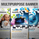 Multipurpose Banner Vol.7 - GraphicRiver Item for Sale