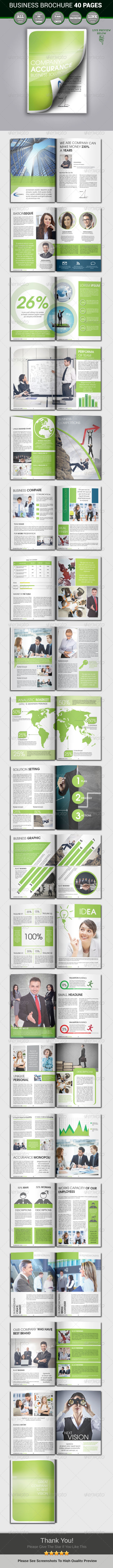 GraphicRiver Business Brochure 40 Pages 4656392