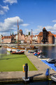 Marina and Old Town of Gdansk Skyline - PhotoDune Item for Sale